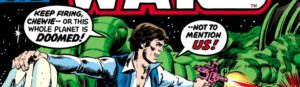 Cover detail, Star Wars #10 Marvel Comics, January 1978